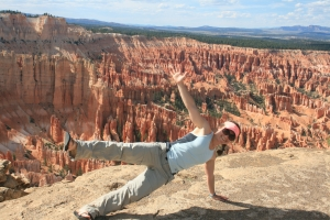 Plank in Bryce Canyon