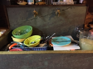 Mundane tasks like dishes can be a time to be present.