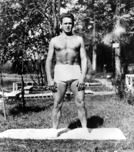 Joe Pilates Aging in Place. I think he's in his fifties in this picture.
